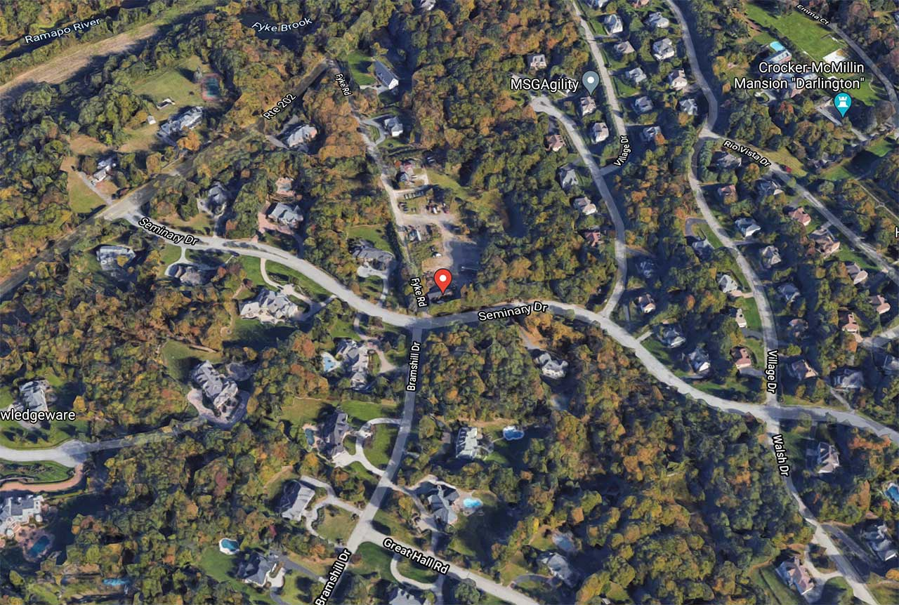 Fyke Brook Estates 1 Fyke Road Mahwah Nj Map