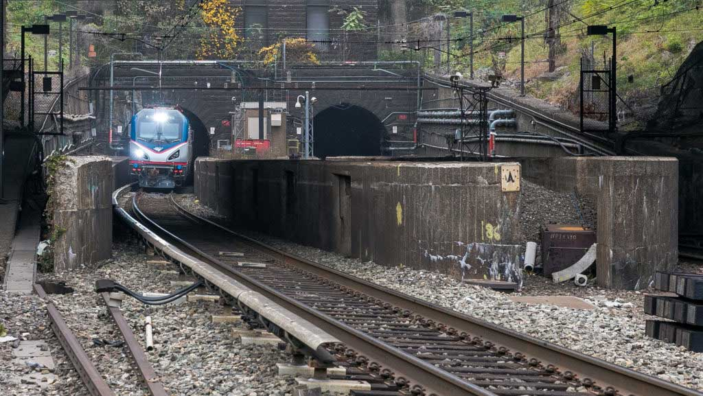 Hudson Tunnel Project Weehawken New Jersey Current