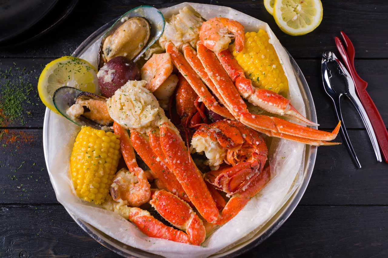 Crab Du Jour Opening Newport Plaza Jersey City Seafood Boil