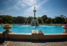 Lincoln Park Fountain Renovation Jersey City