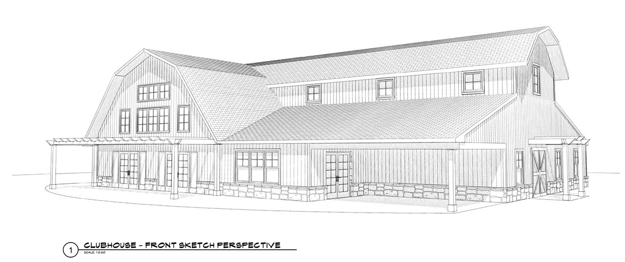 Willows At Spruce Run Clubhouse Rendering 1