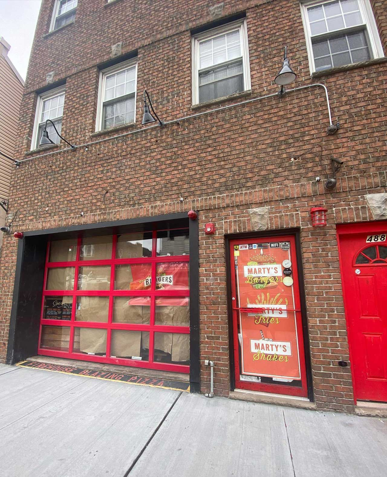 Marty's Burgers Opening 488 Central Avenue Jersey City Heights 2